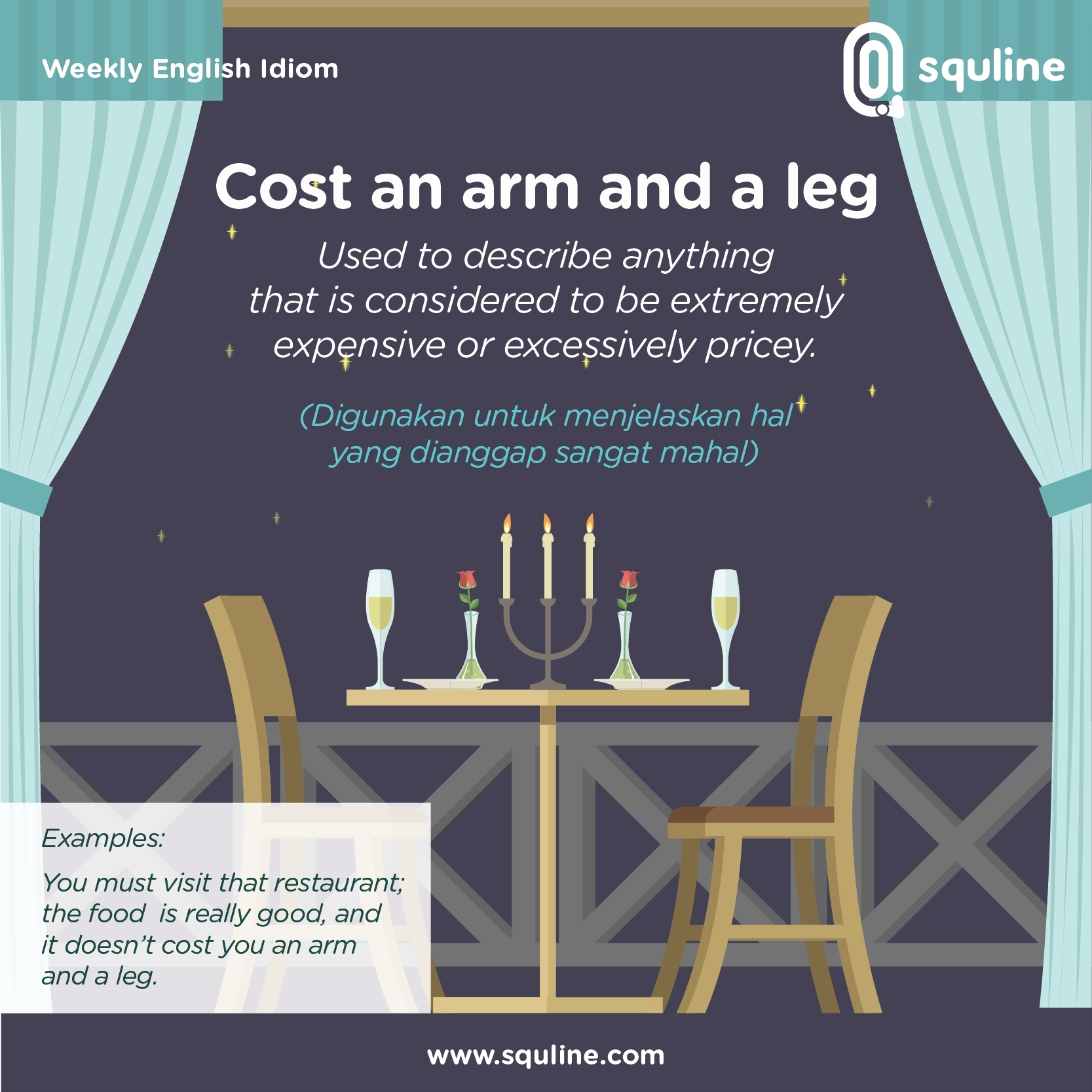 11 ENGLISH IDIOM_Cost an arm and a leg_OCTOBER WEEK 2