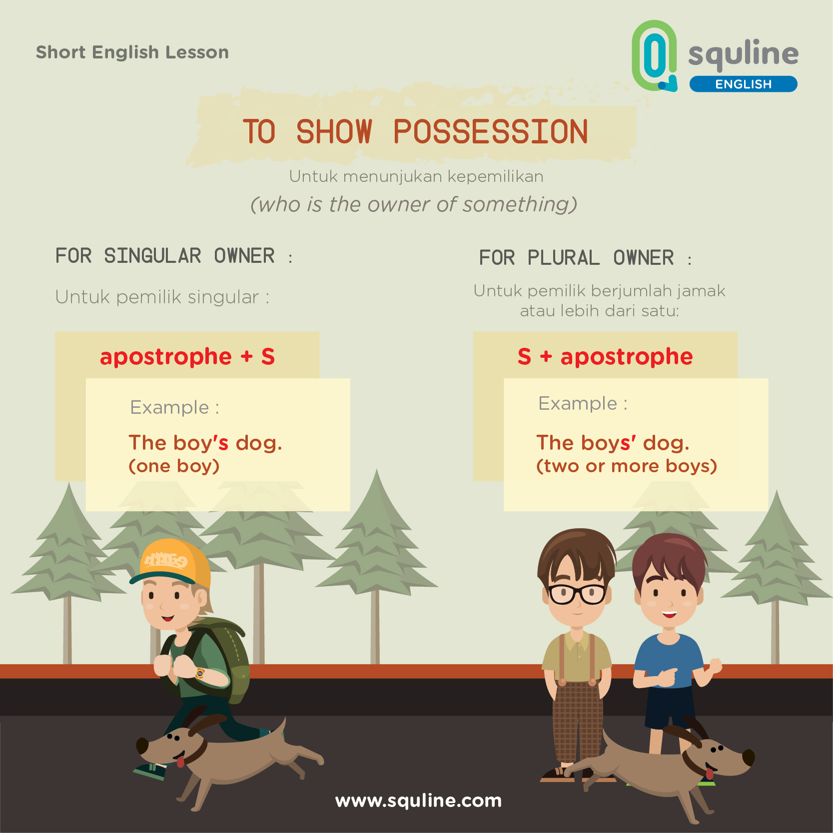 short english lesson
