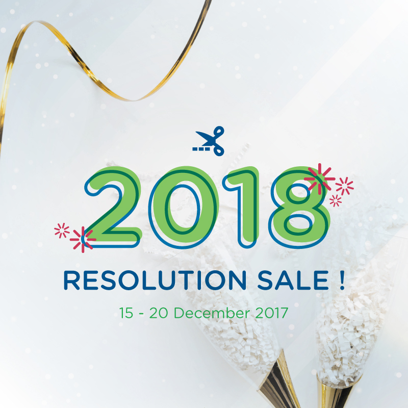 2018 Resolution Sale