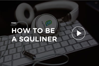 How to be Squliner picture to play video