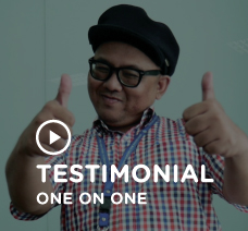 English one on one testimonial Picture at Squline to play video