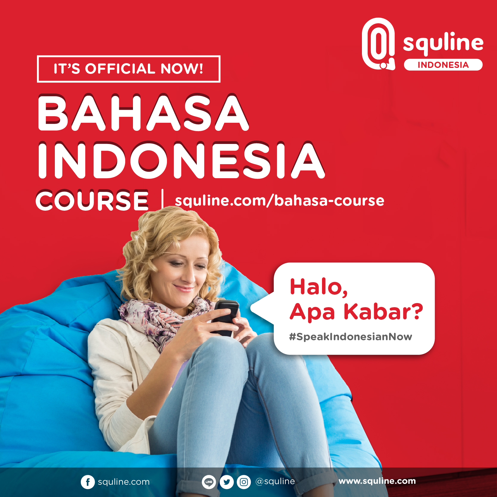 Squline Bahasa Indonesia Soft Launch 2 Mei 2018
