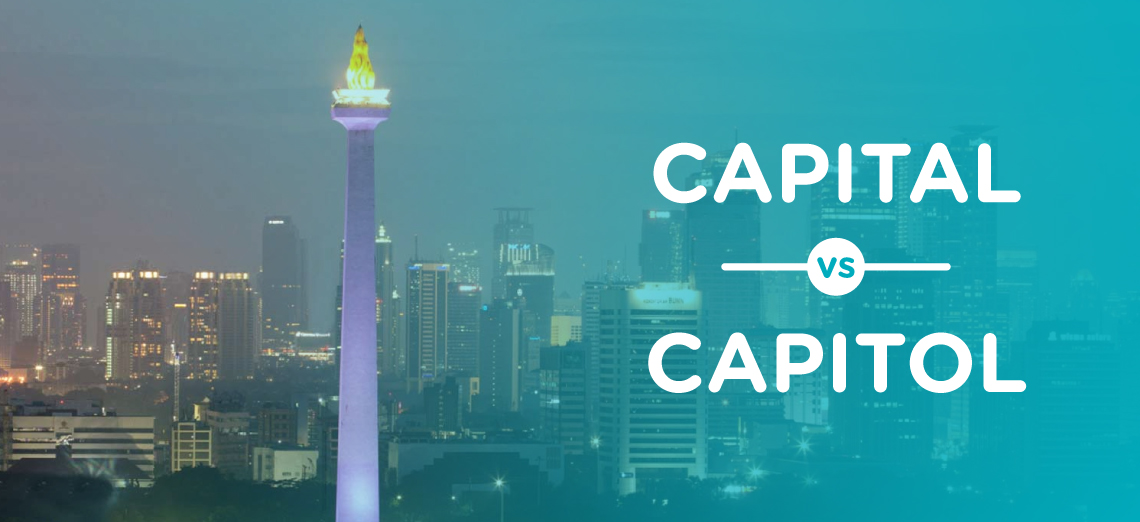 Short English Lesson Capital vs Capitol