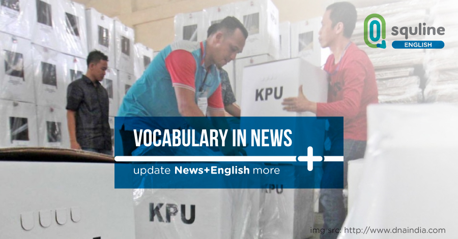 Vocabulary In News First-time voters, veteran advised to register
