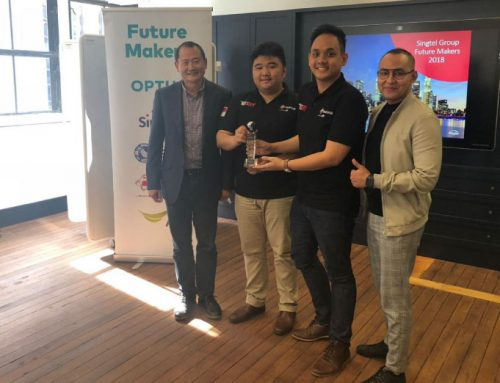Squline Mewakili Indonesia di Singtel Group Future Makers 2018