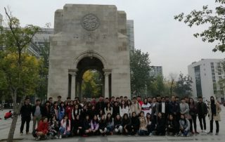 BLCC Organized Long-Term Students to Visit and Study Exchange with Tianjin University